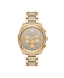 Women's Janelle Gold-Tone Stainless Steel Bracelet Watch 42mm