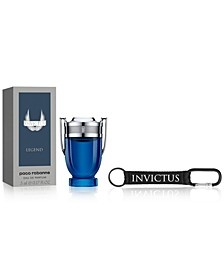Receive a Complimentary 2-Pc. gift with any large spray purchase from the Paco Rabanne Invictus fragrance collection, A Macy's Exclusive