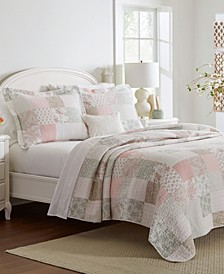 Celina Full/Queen Patchwork Quilt Set, 3 Piece