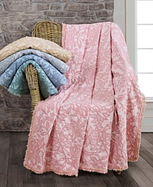 Oversized Floral Cotton Throw