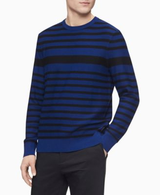 Merino Engineered Stripe Sweater
