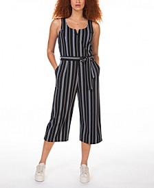 Striped Culotte Jumpsuit, in Regular & Petite