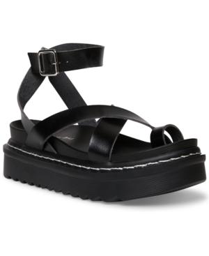 Delanno Platform Footbed Sandals
