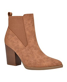Women's Aivela Pointy-Toe Booties