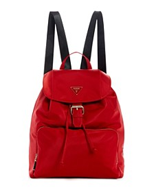Jaxi Nylon Large Backpack