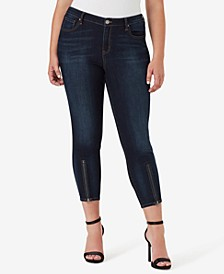 Trendy Plus Size Perfect Skinny Ankle Jeans