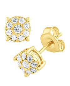 Diamond Stud (1/4 ct. t.w.) in 14k White, Yellow or Rose Gold