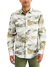 INC Men's Highland Printed Shirt, Created for Macy's