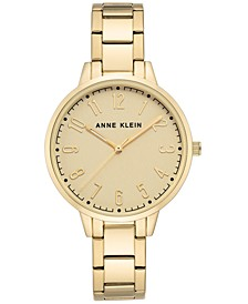 Women's Gold-Tone Bracelet Watch 38mm