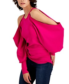 INC Cold Shoulder Sweater, Created for Macy's
