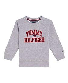 Little Boys Henry Pullover Crew Sweatshirt