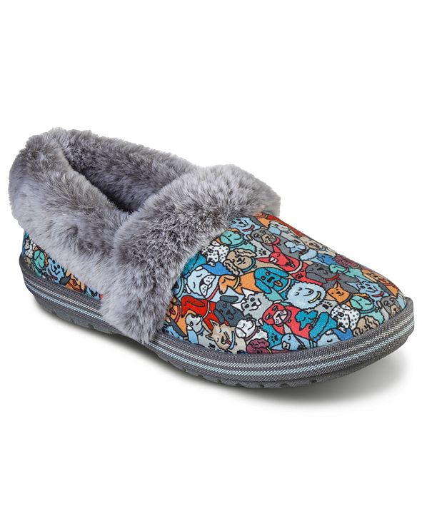 Skechers Women's BOBS for Paws BOBS Too Cozy - Pooch Parade Slipper Shoes from Finish Line