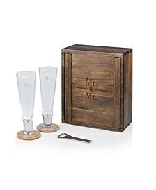 Mr. Mr. Pilsner Beer Glass Gift Set