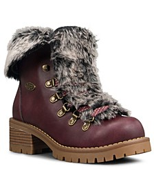 Women's Adore Fur Classic Chukka Regular Fashion Boot