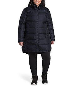 Women's Plus Size Metropolis Hooded Parka III