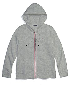 Women's Hoodie with Magnetic Zipper Closure
