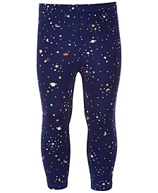 Baby Girls Girly Space Leggings, Created for Macy's