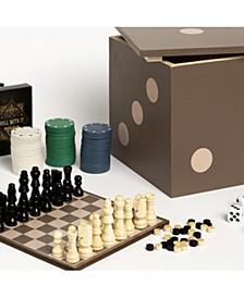 5-in-1 Dice Box Game Set