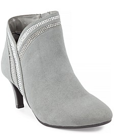 Halena Sparkle Booties, Created for Macy's