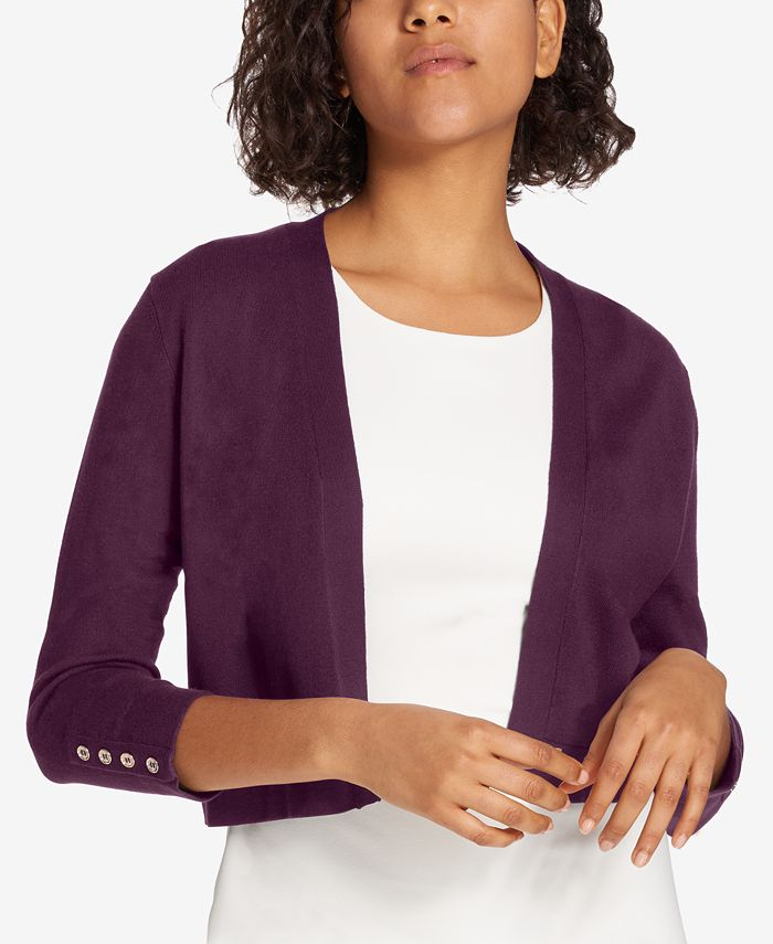 Tommy Hilfiger - Button Sleeve Shrug