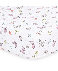 Butterfly Whisper Fitted Sheet