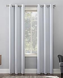 "Preston Blackout Grommet Curtain Panel, 40"" x 63"""
