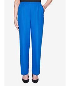 Women's Plus Size Classics Textured Proportioned Short Pant