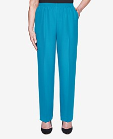 Women's Plus Size Classics Textured Proportioned Medium Pant