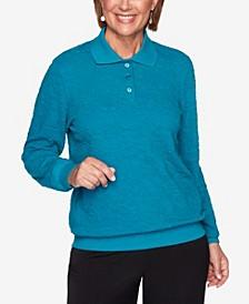 Women's Plus Size Classics Jacquard T-shirt