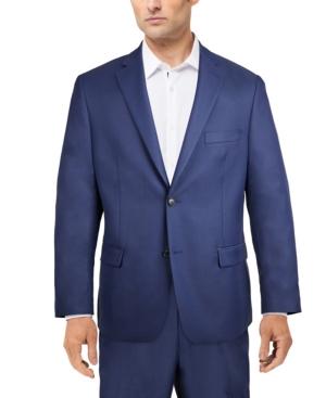 Men's Classic-Fit Stretch Solid Suit Jacket