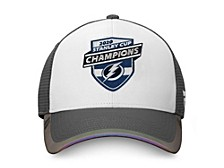 Tampa Bay Lightning 2020 Stanley Cup Champs Locker Room Adjustable Cap