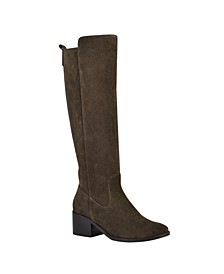 Women's Rela Wide Calf Riding Boots