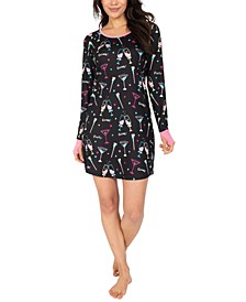 New Year's Party Sleepshirt Nightgown