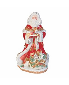 Yuletide Holiday Santa Figurine