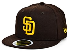 San Diego Padres Authentic Collection 59FIFTY Cap