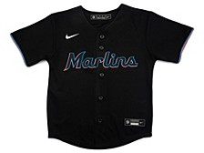 Miami Marlins Kids Official Blank Jersey