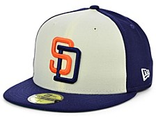 San Diego Padres Coop Front 59FIFTY Cap