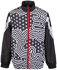 Big Boys Flag Windbreaker Jacket, Created for Macy's