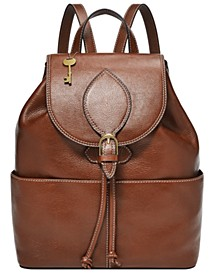 Women's Luna Leather Backpack