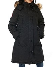 Women's Parka Coat (19% Off) -- Comparable Value $99
