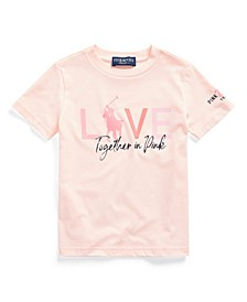 Toddler Boys Pink Pony Graphic Tee