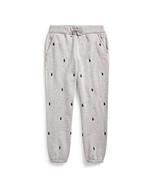 Big Boys Pink Pony Fleece Jogger Pant