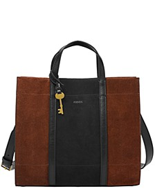 Women's Carmen Suede Shopper
