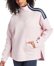 Women's Mock-Neck Zip Sweatshirt