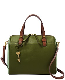 Women's Rachel Leather Satchel