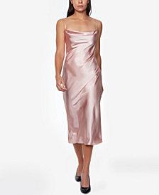 bebe Satin Slip Dress