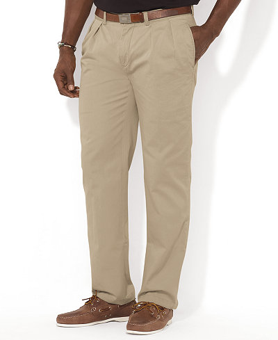 Polo Ralph Lauren Men's Big and Tall Pants, Ethan Classic-Fit ...
