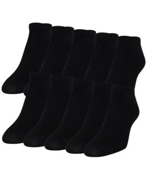 Women's 10-Pk. Lightweight No-Show Socks