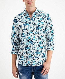 INC Men's Alexander Printed Cotton Shirt, Created for Macy's