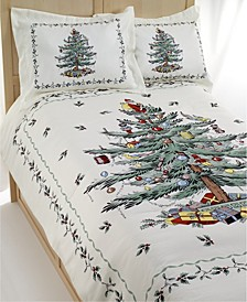 Christmas Tree Full/Queen 3 Piece Comforter Set